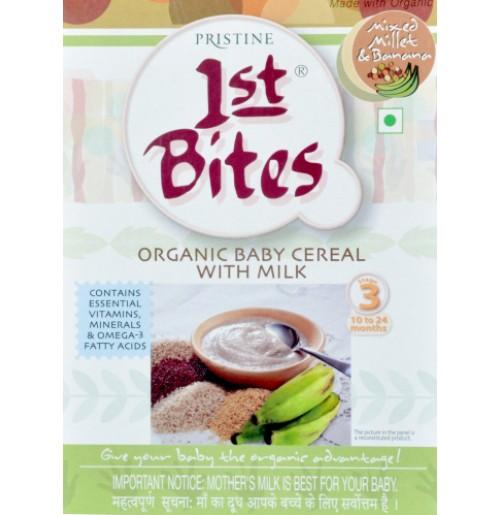 1st Bites - Mixed Millet & Banana  (300 Gms)
