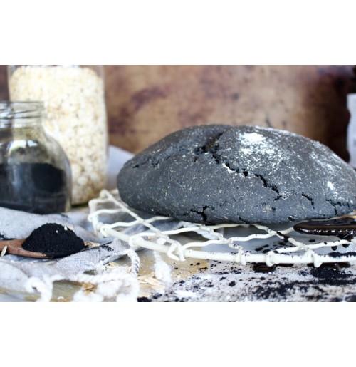 Charcoal Sourdough Bread (400 Gms)