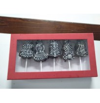Christmas Tree Brownie  Box