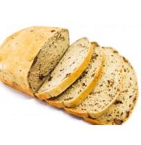 Bread  - FLAX AND WALNUT  (500 Gms) (Eggless)