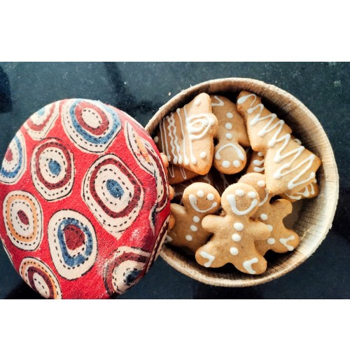 Ginger Bread Cookies (250gms)  ~ in a Gift Box