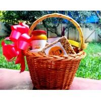"""Healthy Organic Goodies"" Diwali Gift Basket"