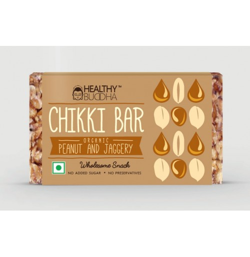 Chikki Bar (Groundnut & Jaggery)