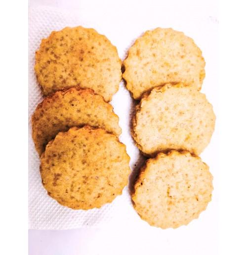 Lemon cookies (100 Gms) (Eggless)