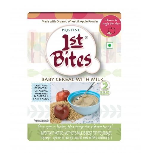 1st Bites - Wheat & Apple Powder (300 Gms)