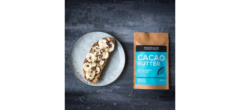 Almond & Cocoa Butter Banana Toast