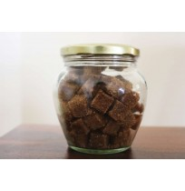 Brown Sugar Cubes (in Glass Bottle -250g)