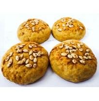 Sweet Potato Buns (4 Pack) (Eggless)