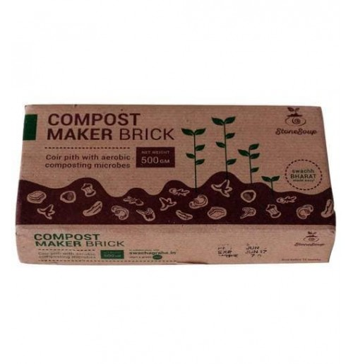 Compost Maker Brick [Aerobic Composting, 900g each Pc]