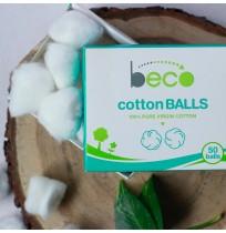 Pure Cotton Balls (Box of 50 pcs)