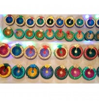 Handmade Clay Diyas (Pack of 2)