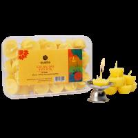 Easy Diya Box (30 pcs + 2 Steel Diyas, Pure Cow Ghee)