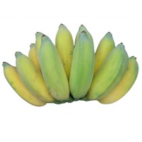 Banana - Poovan Pazham (will ripen in 1-2 days)