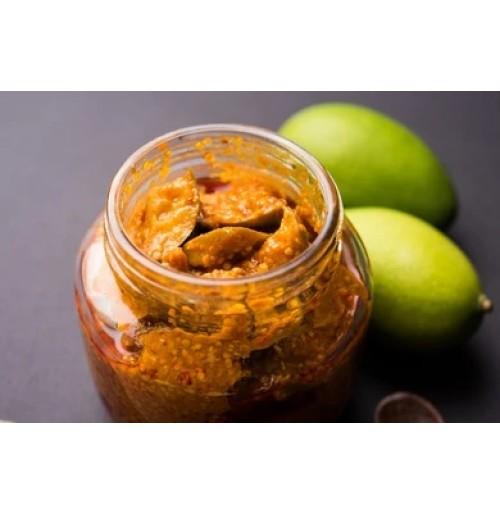 Pickle - Mango (Gadhamar, in Glass, 400gms)