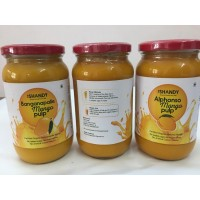 Mango Pulp - ALPHONSO (Glass Bottle)