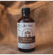 Wild Ideas' Traditional Tulasi Anti Ageing Massage Oil
