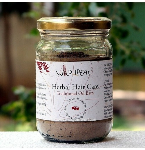 Herbal Hair Care - Traditional Oil Bath - 100gms