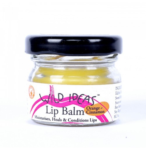 Lip Balm (Orange & Cinnamon) - 15gms