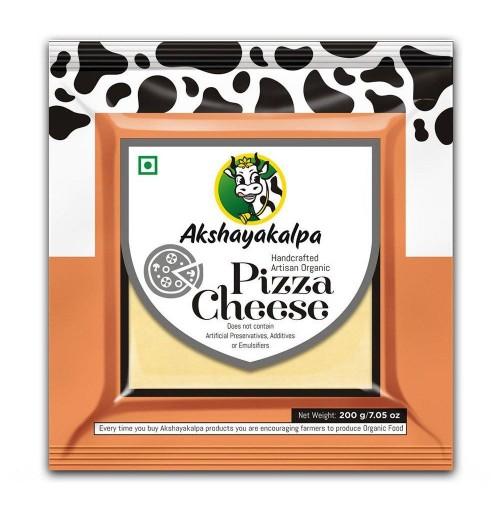 Pizza Cheese (200 Gms, Akshayakalpa)