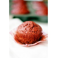 Red Velvet Muffin (three in a pack)