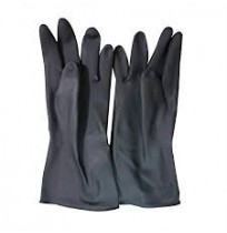 Rubber Gloves (1 pair)