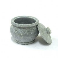 Soapstone Vessel - Curd Setting (or Kitchen Storage)