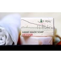 Handmade Soap: Vetiver - 100gms