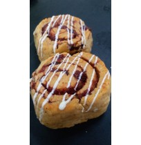 Strawberry Rolls (2Pieces) (Eggless)