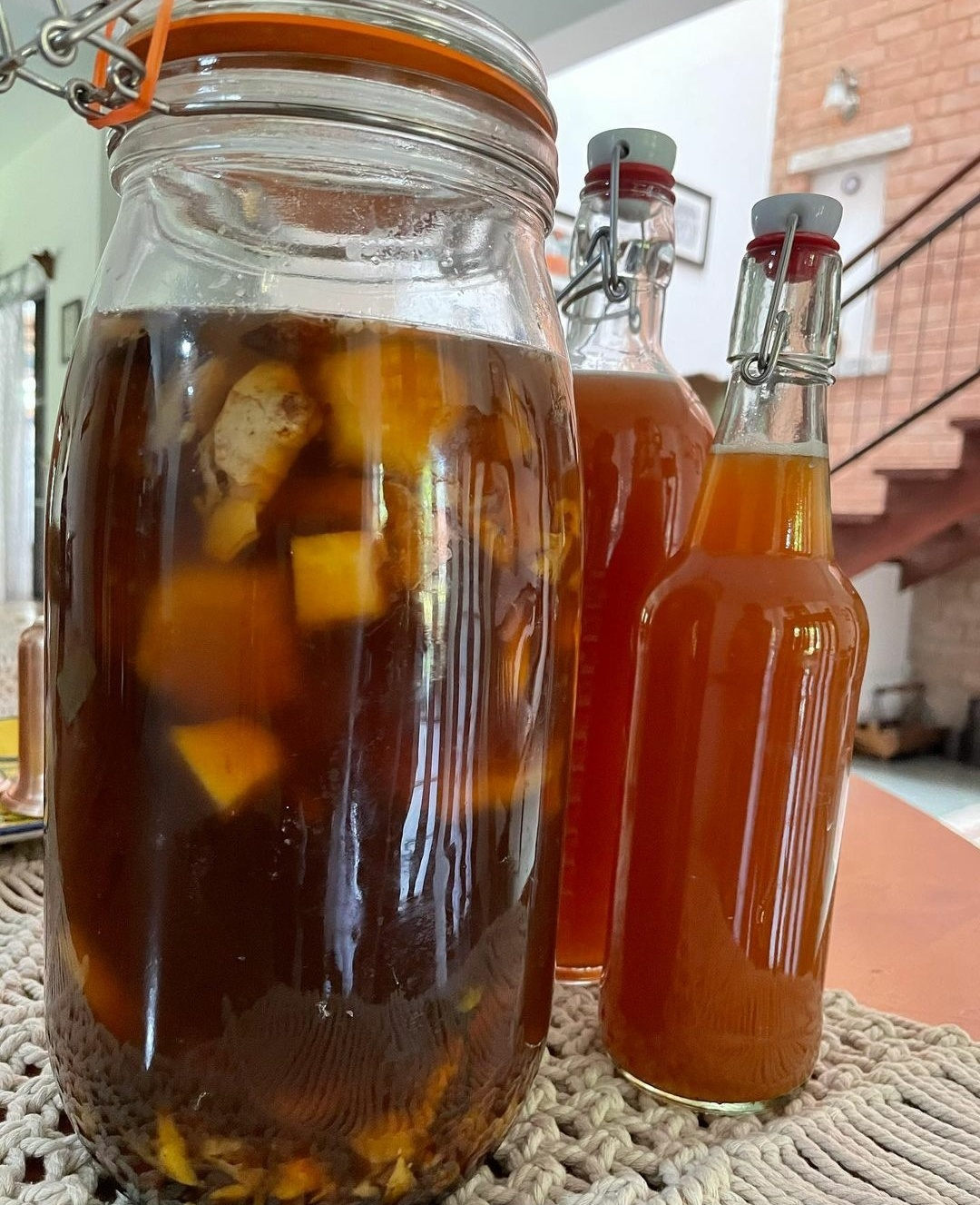 Tepache - Fermented Pineapple Drink