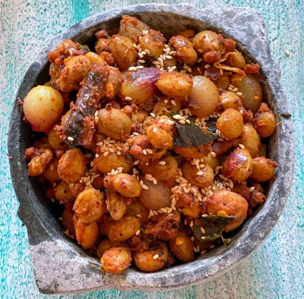 Borlotti Bean Fry
